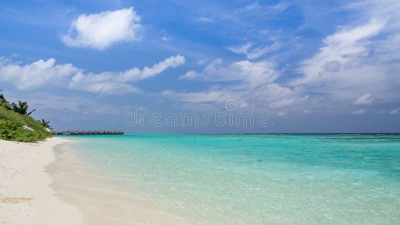 Jours heureux dans Maldive photo stock