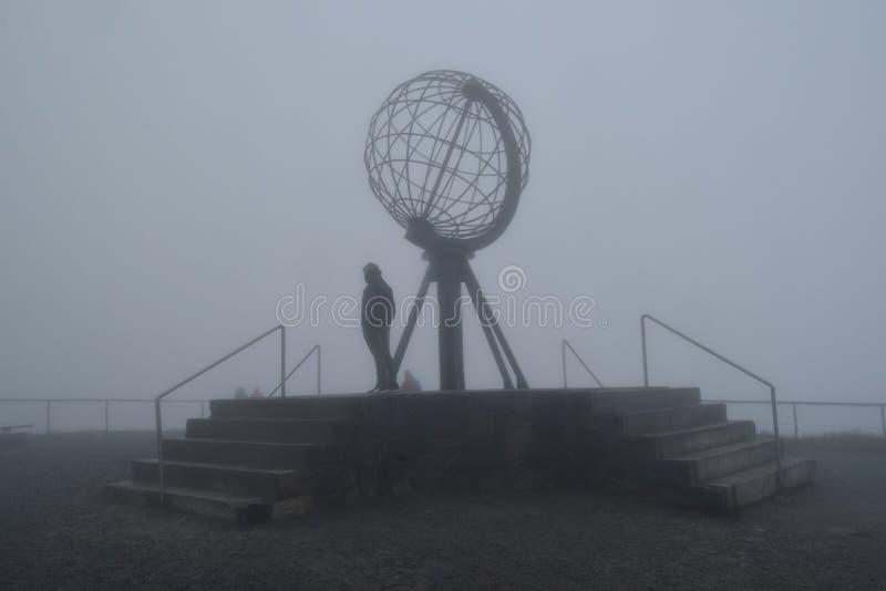 Jours pluvieux dans le ` s Fiordlands de la Norvège photos libres de droits