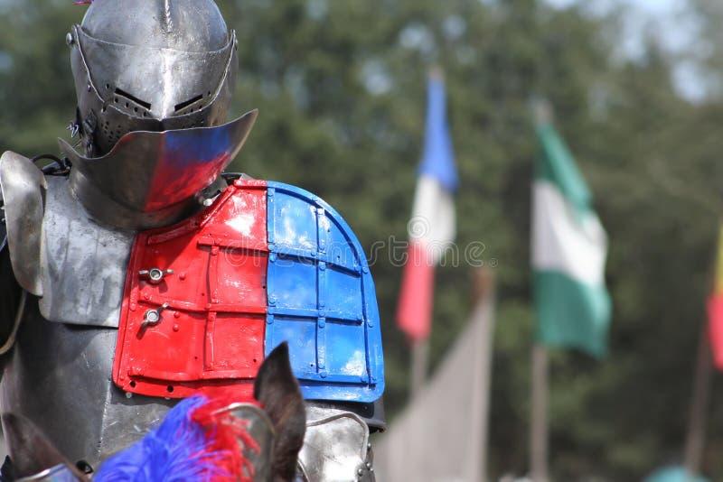 ~Jousting~ de festival de la Renaissance photo stock