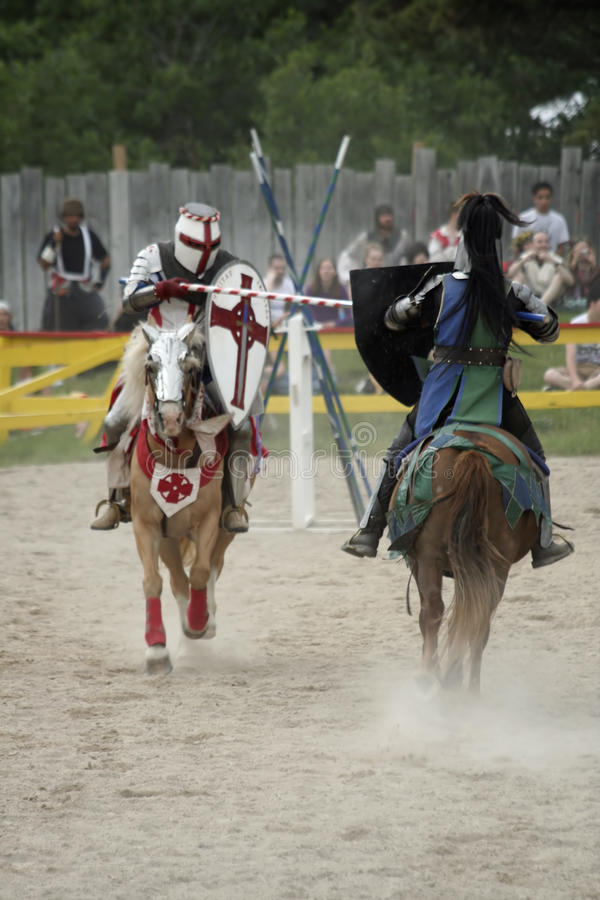 Download Jousting Knights editorial stock photo. Image of colorado - 15038883