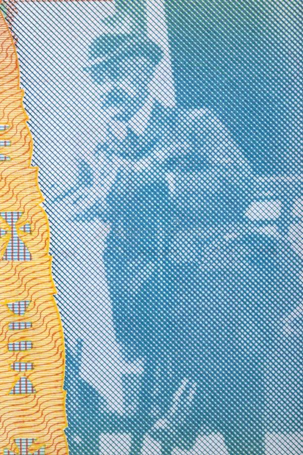 Jovan Cvijic en stående från serbiska pengar arkivfoton
