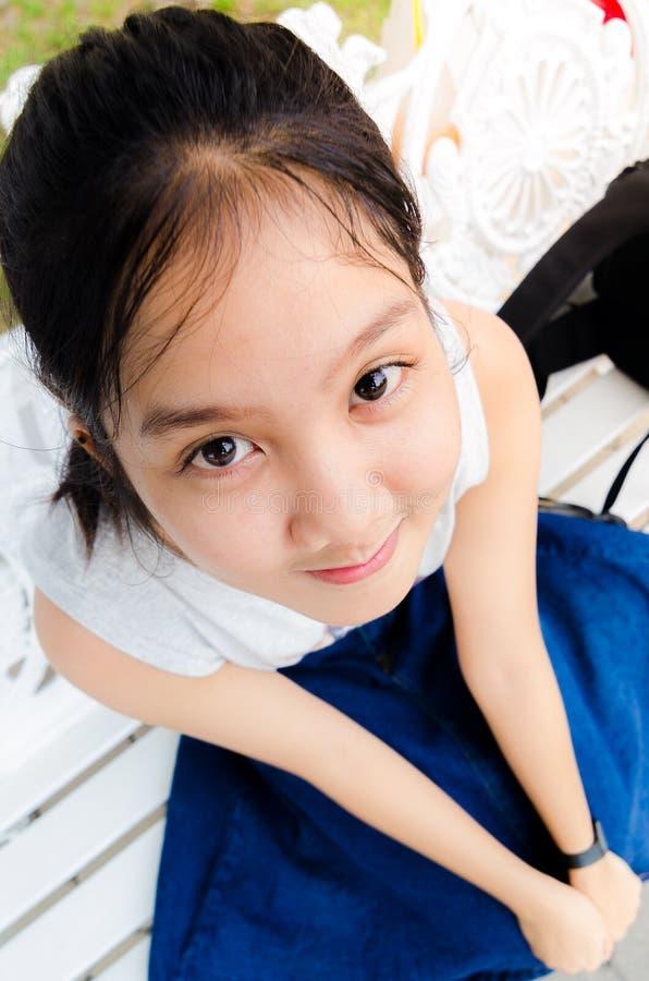 Jovem adolescente da menina fotografia de stock