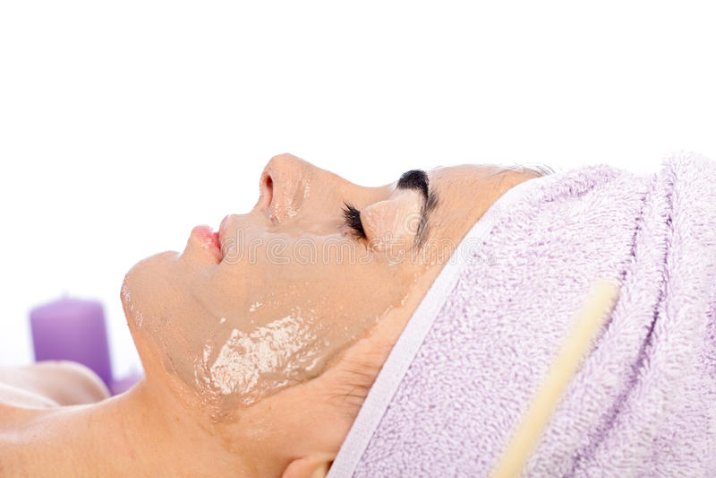 Download Máscara facial foto de stock. Imagem de se, relaxation - 29833836