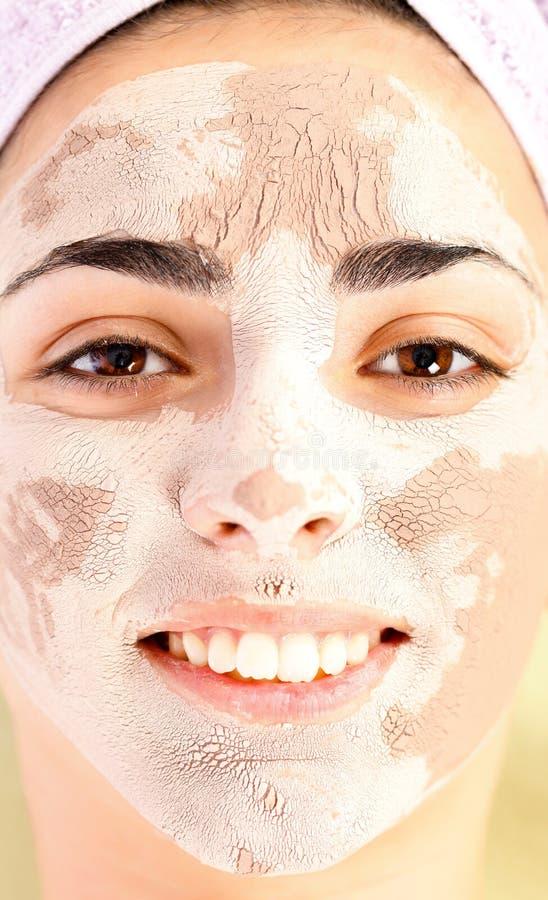 Download Tratamento Da Máscara Da Argila Foto de Stock - Imagem de frescor, bonito: 29833440