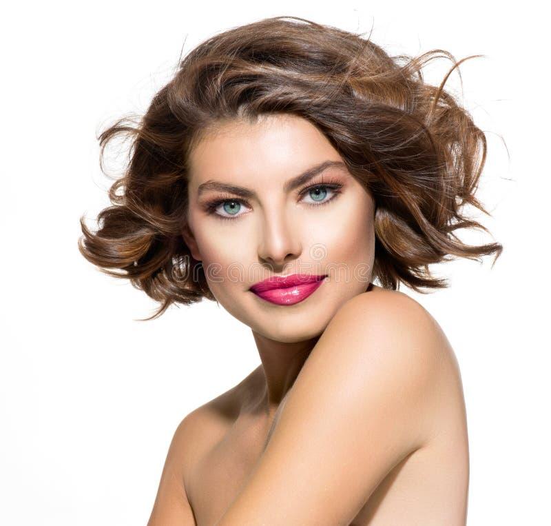 Jovem mulher da beleza fotos de stock royalty free