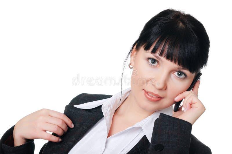 Download Jovem mulher encantador foto de stock. Imagem de cheerful - 12813376