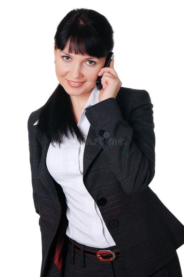 Download Jovem mulher encantador foto de stock. Imagem de olhar - 12813468