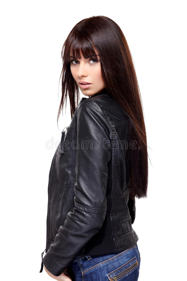 Jovem mulher glamoroso fotos de stock
