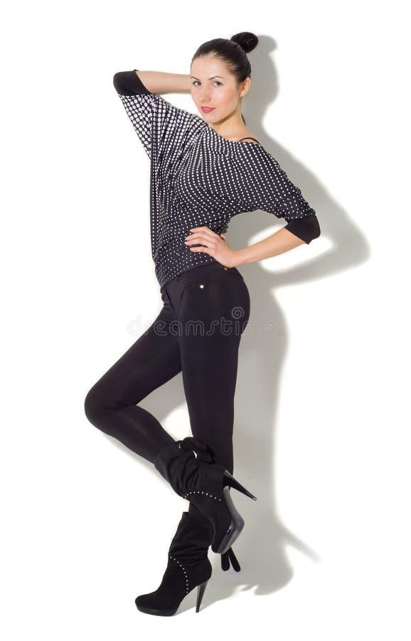 Jovem mulher magro bonita foto de stock royalty free