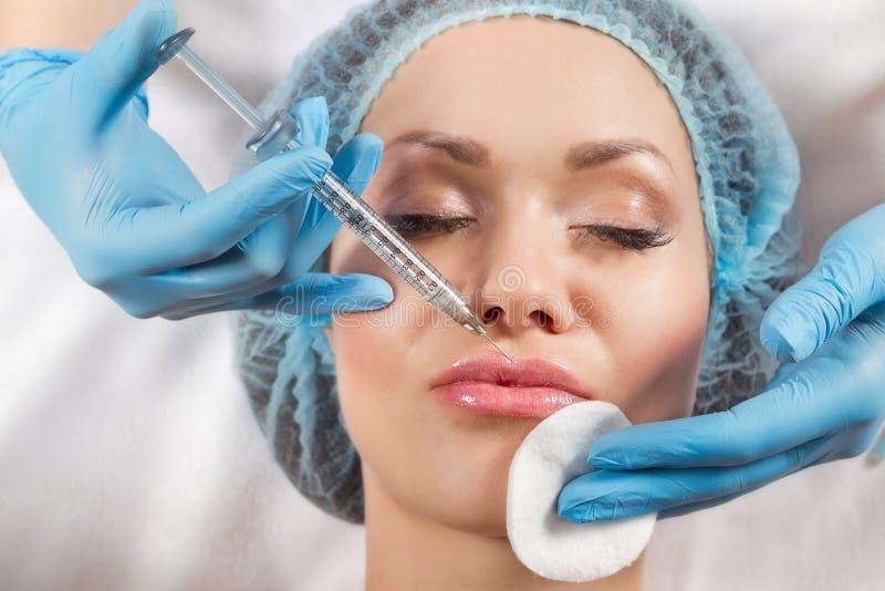 Injeção de Botox foto de stock royalty free