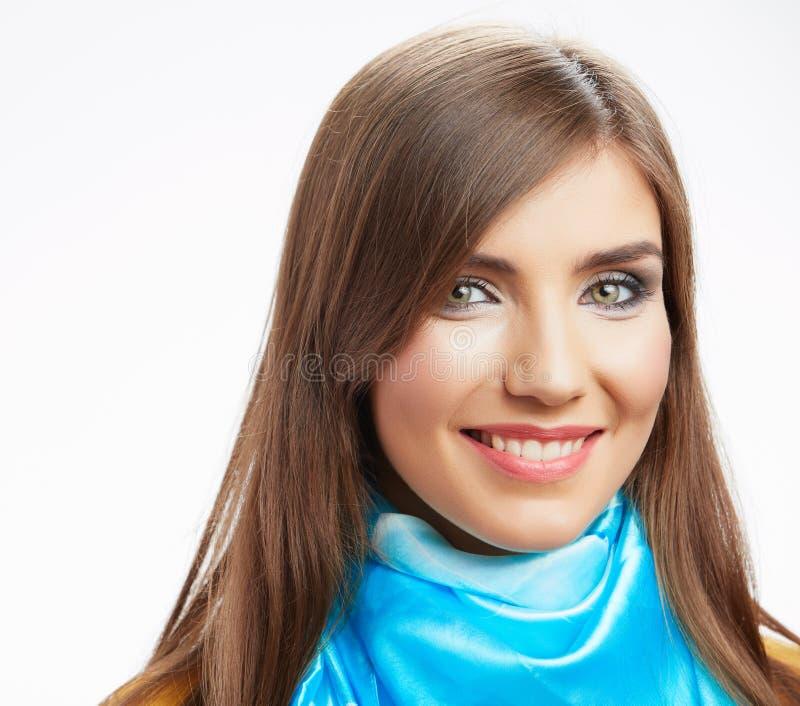 Jovem mulher  retrato, foto de stock royalty free