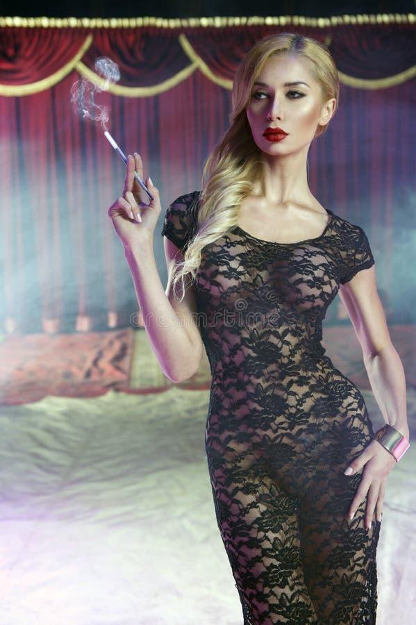 Jovem mulher 'sexy' imagem de stock
