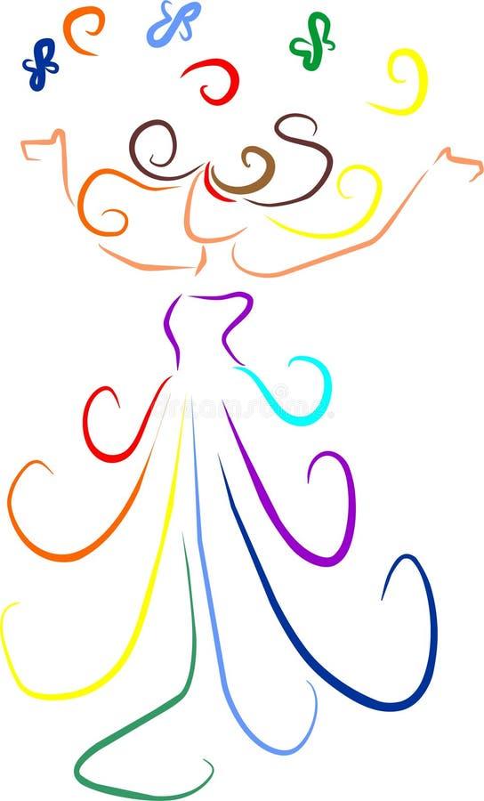 Download Joy stock vector. Illustration of illustration, colors - 19732491