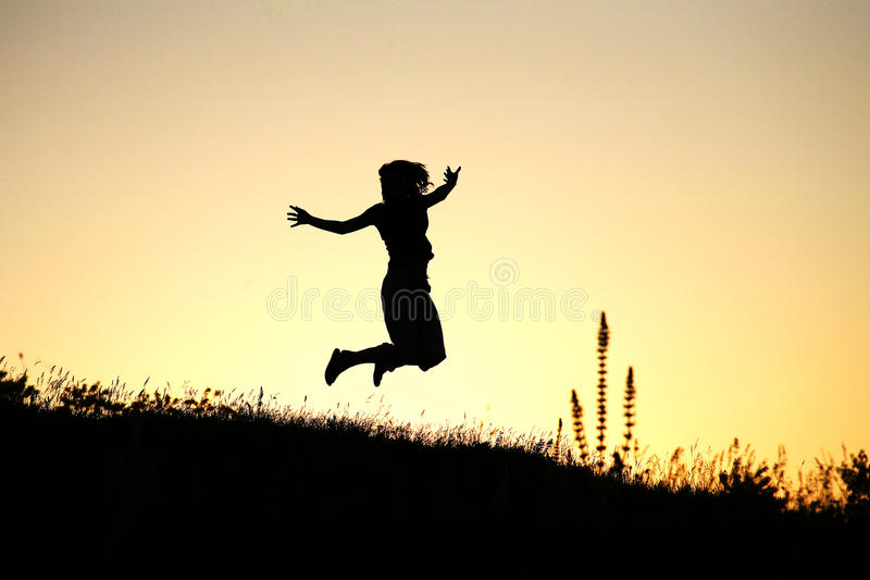 Download Joy stock image. Image of girl, happy, jump, levitates - 23527503