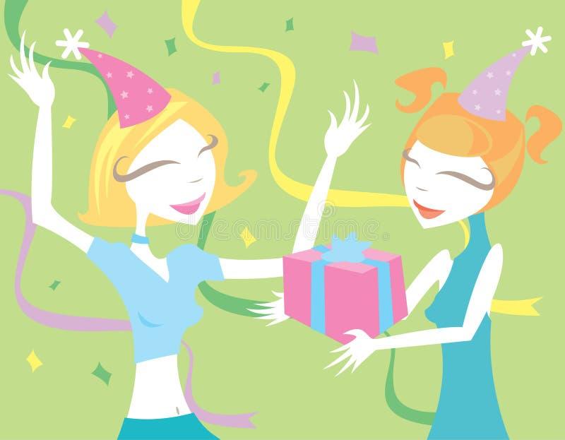 Download Joy of Birthdays stock illustration. Image of cute, streamers - 819832