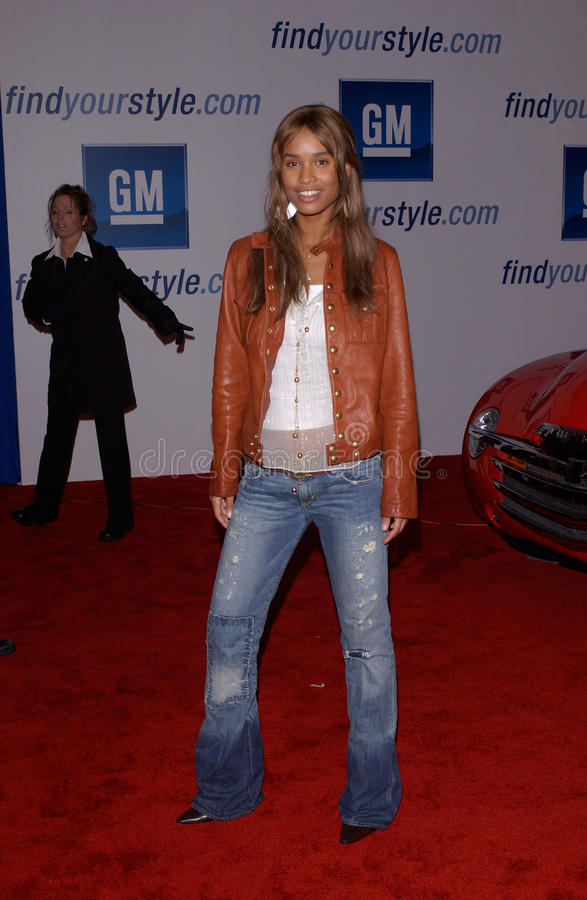 Joy bryant editorial stock image image of 2005 show for Dream motors los angeles