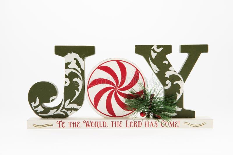 Joy of Christmas royalty free stock photography