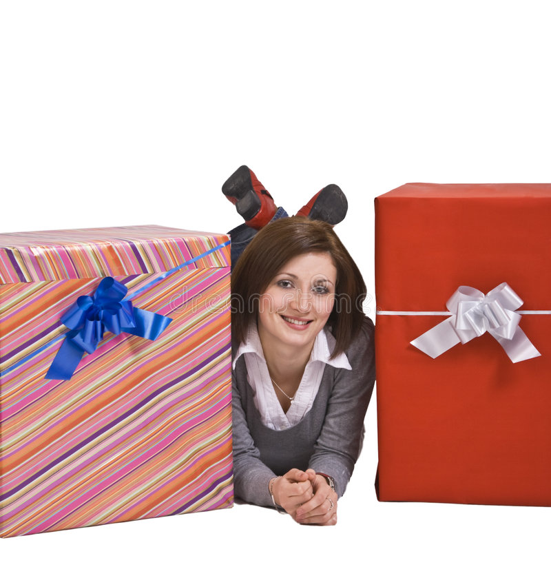 Download The joy of gifts stock photo. Image of adult, festive - 7337644