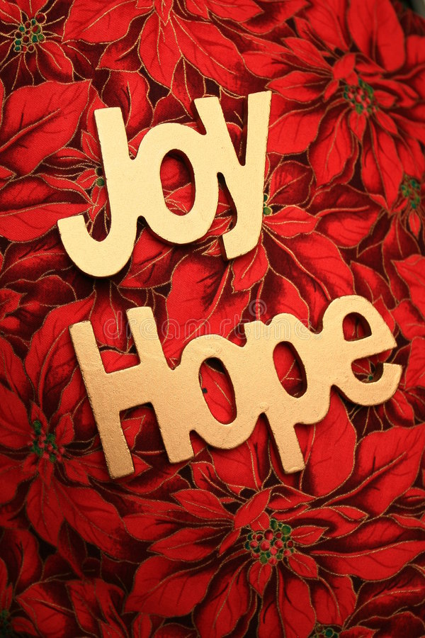 Download Joy and Hope stock photo. Image of piece, background, poinsettia - 7369506
