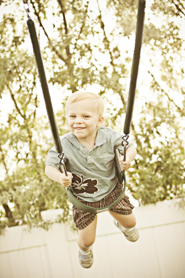 Free Joy On A Swing Stock Image - 19817951