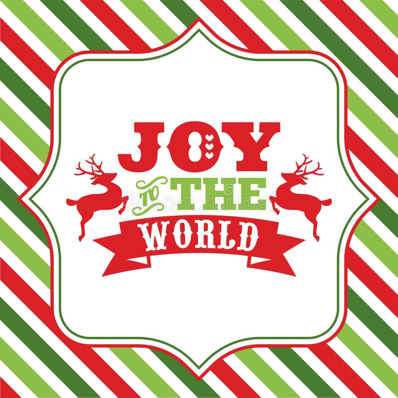 Free Joy To The World Christmas Sayings Word Art Royalty Free Stock Images - 130774599