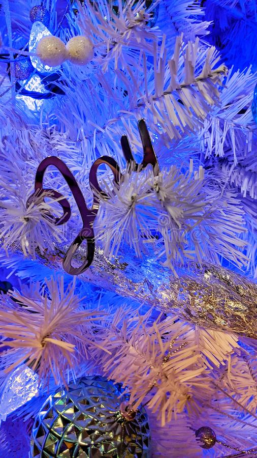 Joy to the world decorations stock images
