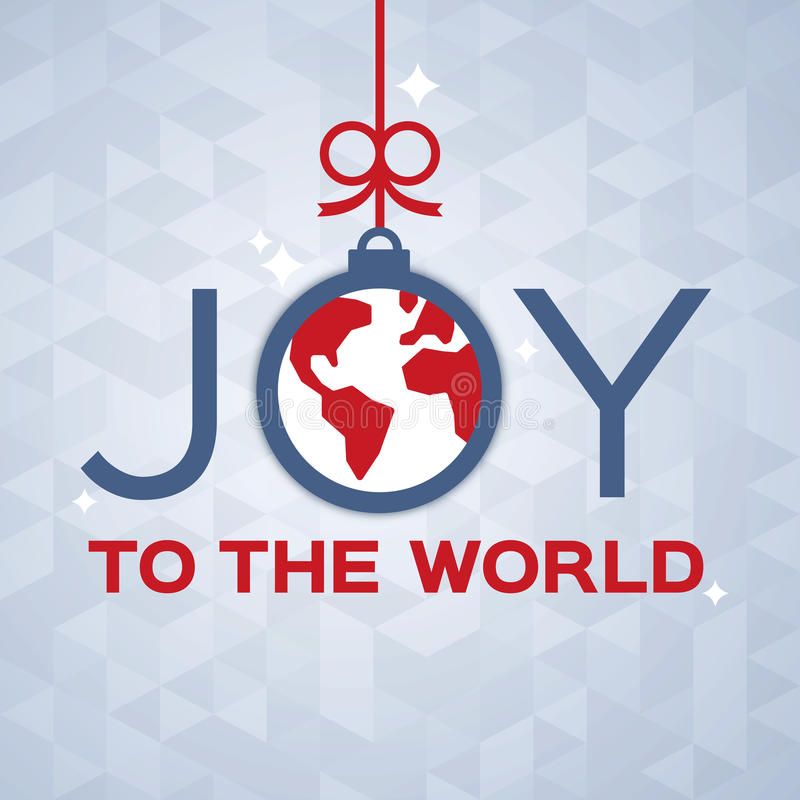 Joy to the World stock illustration