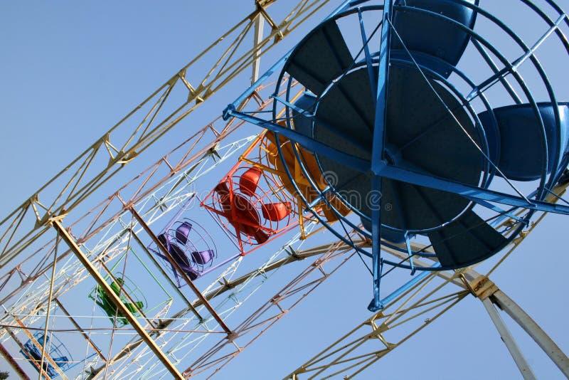 Joy-wheel royalty free stock photography