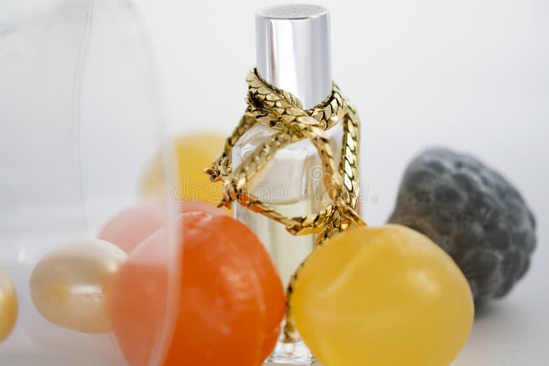joyas del oro amarillo foto de archivo libre de regalías