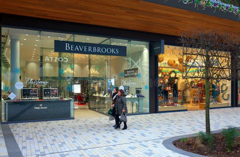 Joyería de Beaverbrooks en Bracknell, Inglaterra fotos de archivo
