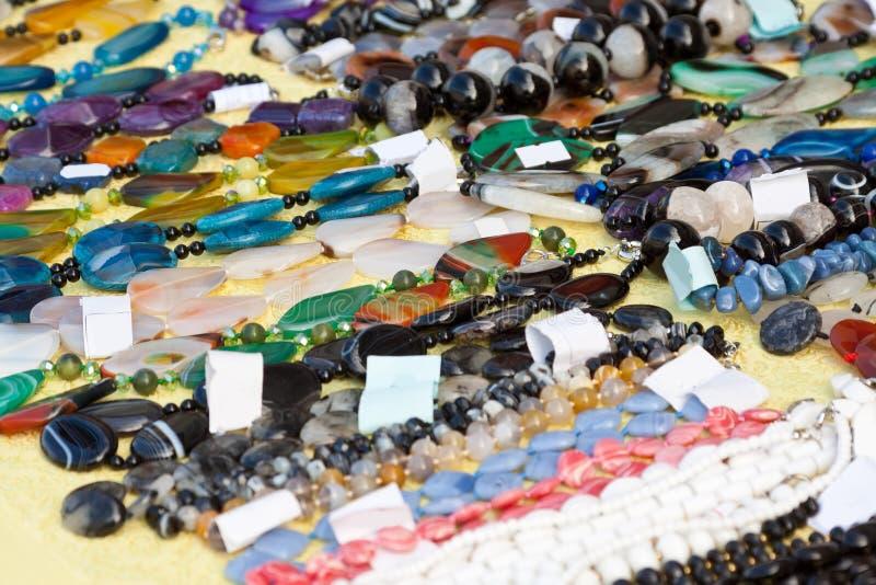 Joyería de gemas naturales imágenes de archivo libres de regalías