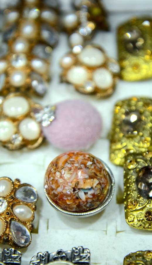 Joyería de las joyas foto de archivo