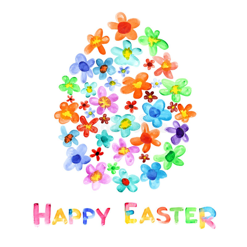 Joyeuses Pâques illustration de vecteur