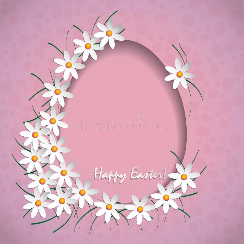 Joyeuses Pâques 2016 illustration de vecteur