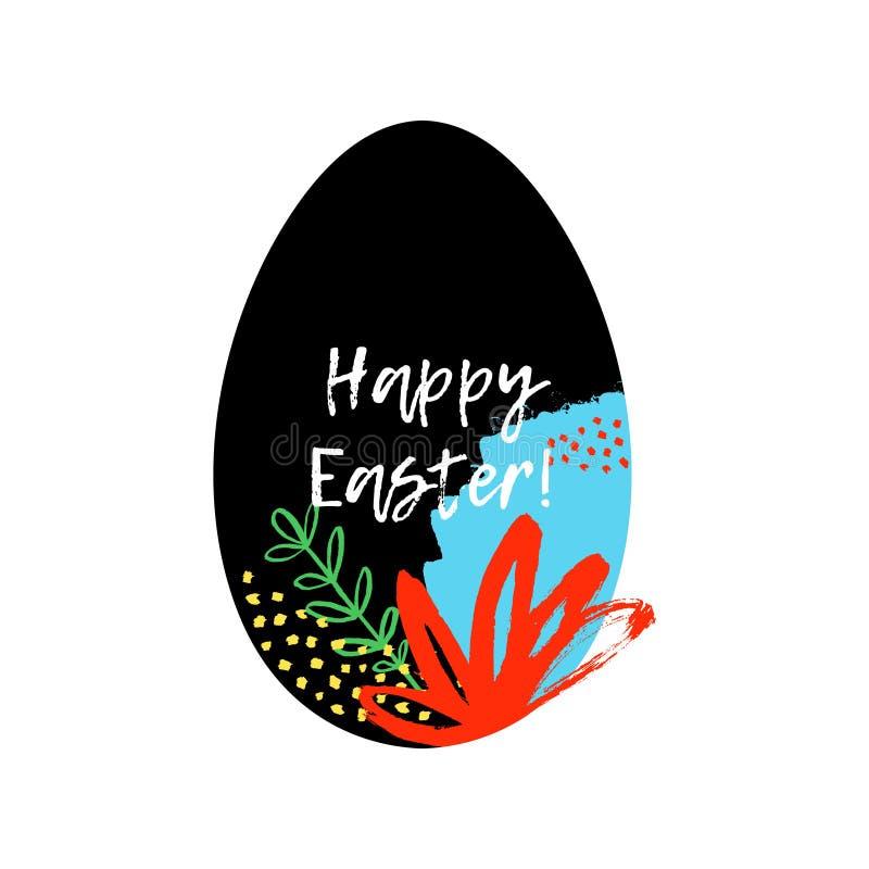 Joyeuses Pâques ! illustration libre de droits