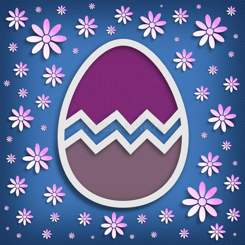 Joyeuses Pâques - calibre de fond illustration libre de droits