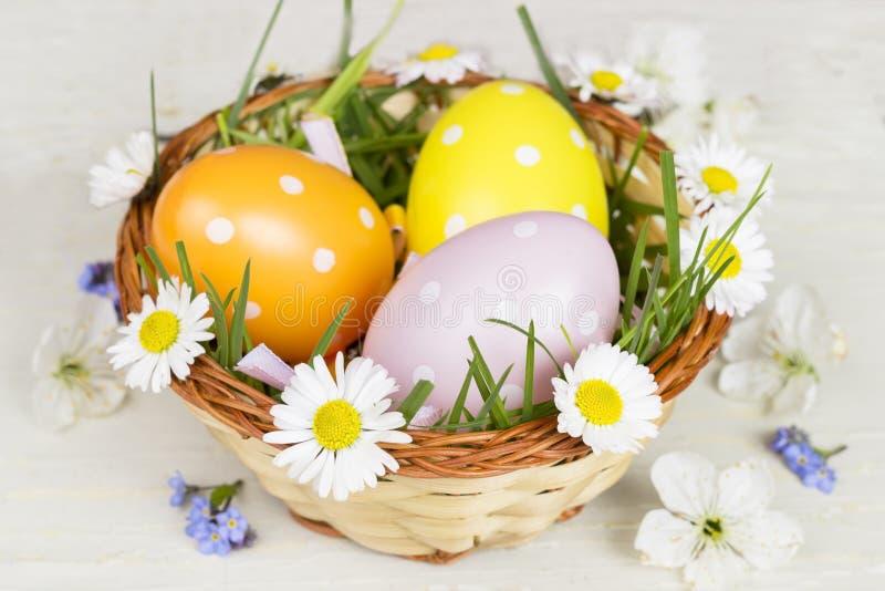 Joyeuses Pâques ! Carte de Pâques photographie stock