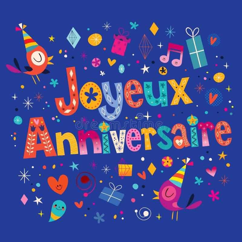 Рождение, поздравительные открытки с днем рождения на французском