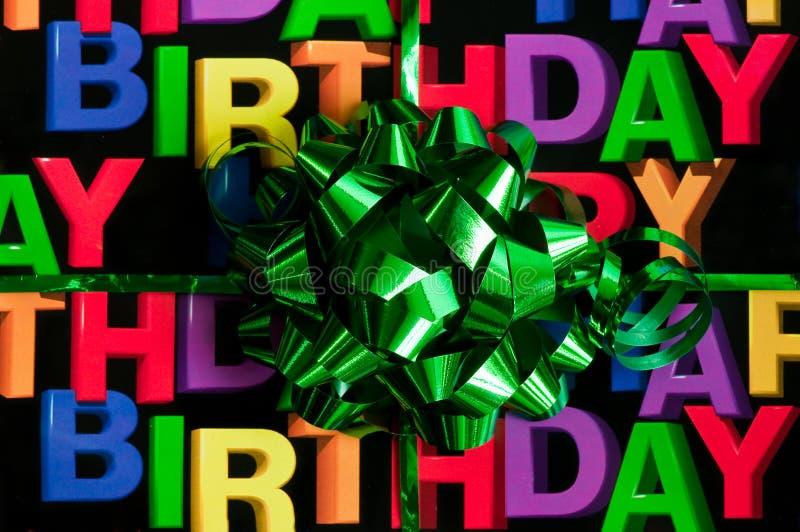 Joyeux anniversaire photographie stock