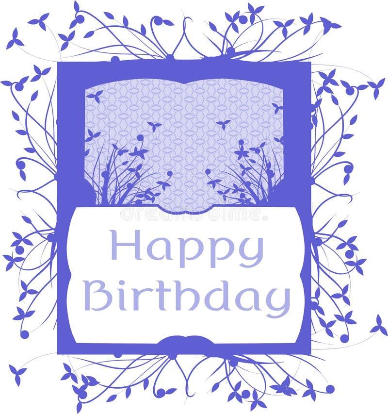 Joyeux anniversaire illustration de vecteur