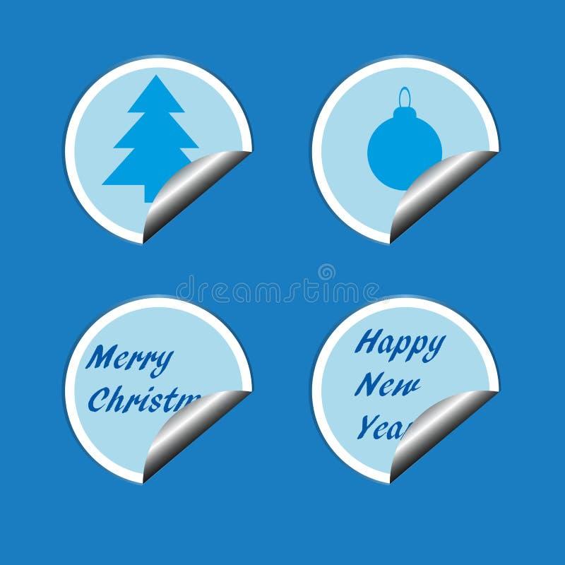 Joyeux christmas1 illustration stock