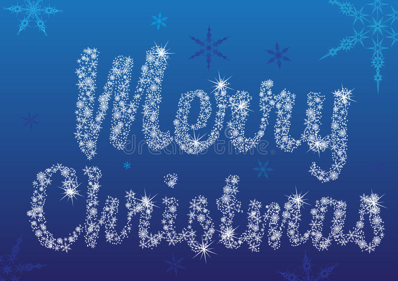 Joyeux Noël illustration stock
