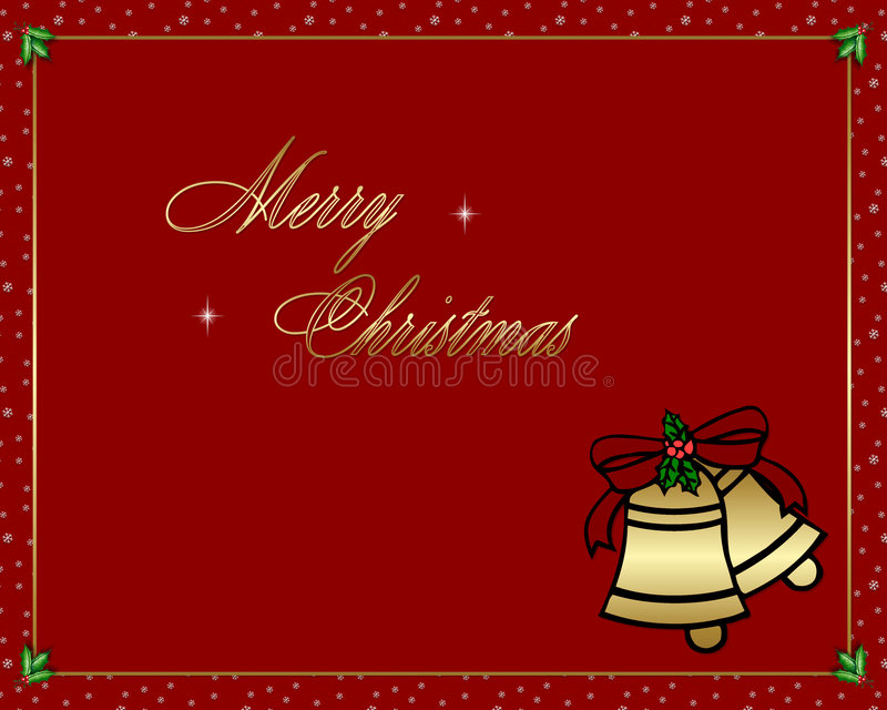 Joyeux Noël 4 illustration de vecteur