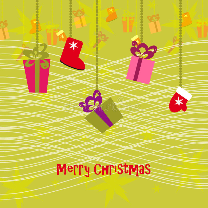 Joyeux Noël 6 illustration de vecteur