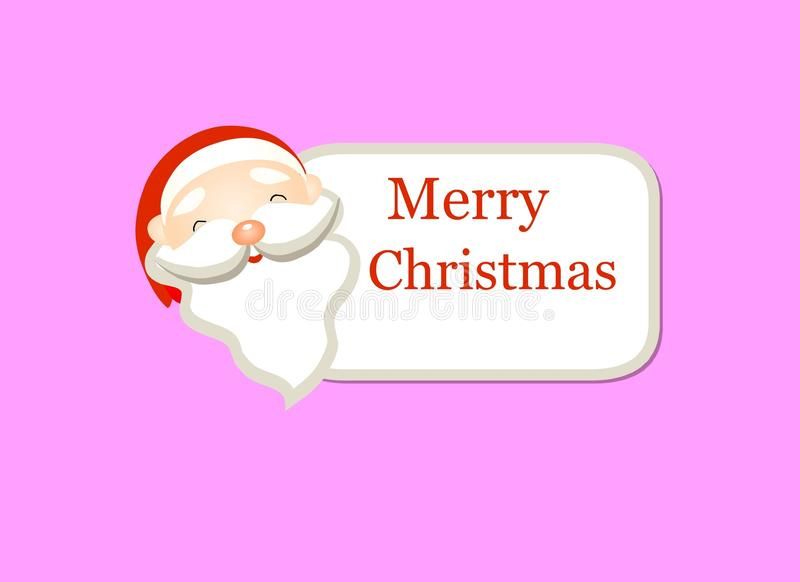 Joyeux Noël de Santacros photos stock