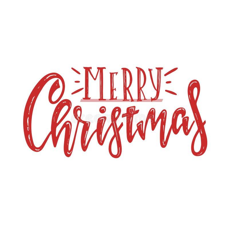 Joyeux Noël de vecteur illustration libre de droits