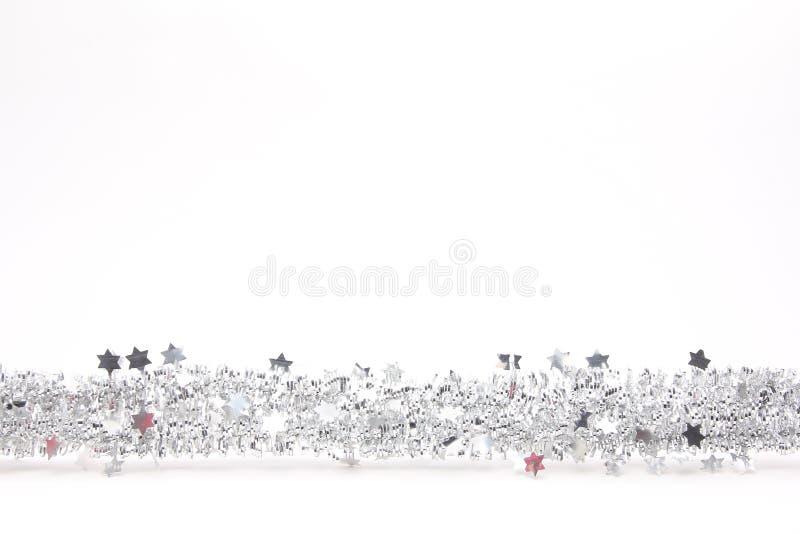 Joyeux Noël devant un fond blanc photo stock