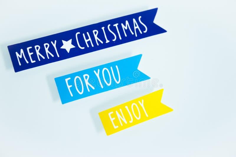 Joyeux Noël Diverse décoration de Noël photographie stock libre de droits