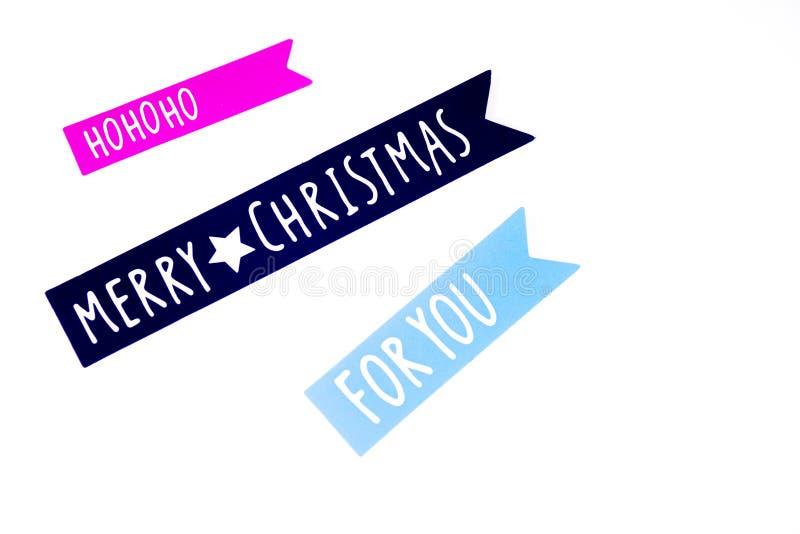 Joyeux Noël Diverse décoration de Noël image stock