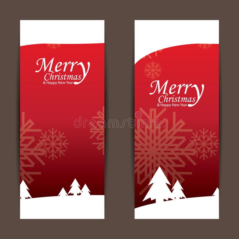 Joyeux Noël et bonne année, conception photographie stock